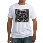 Paranormal Geeks Fitted T-Shirt