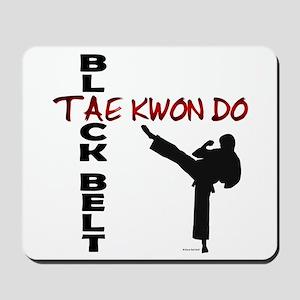 Tae Kwon Do Black Belt 2 Mousepad