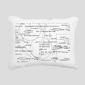 Math Bits Rectangular Canvas Pillow
