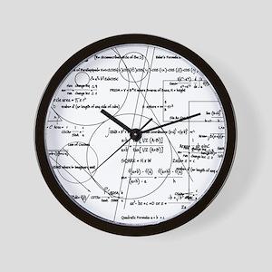 Math Bits Wall Clock