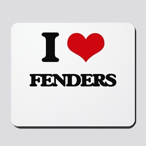 I Love Fenders Mousepad