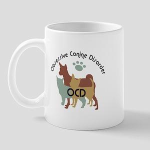 Obsessive Canine Disorder 222 Mugs