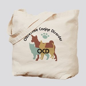 Obsessive Canine Disorder 222 Tote Bag