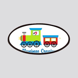 Flamingo Crossing Train Patches