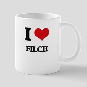 I Love Filch Mugs