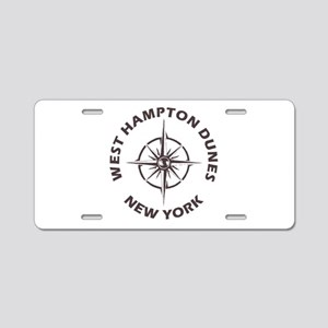 New York - West Hampton Dun Aluminum License Plate