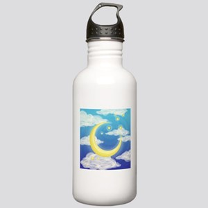 Moon Blue Stainless Water Bottle 1.0L