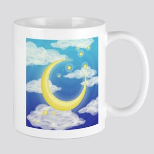 Moon Blue Mugs