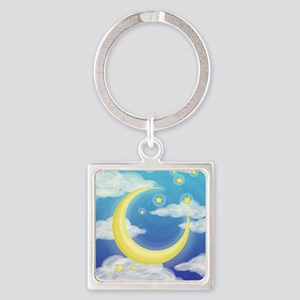 Moon Blue Keychains