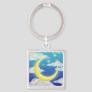 Moon Blue Keychains
