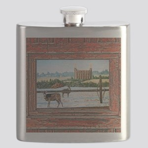 Logan temple oil painting r Flask