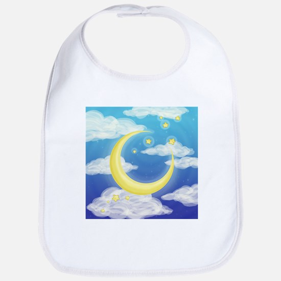Moon Blue Bib