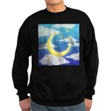 Moon and stars Sweatshirt (dark)