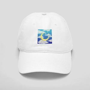Moon Blue Cap