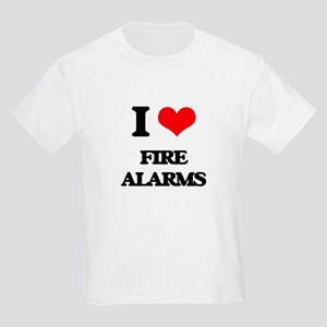 I Love Fire Alarms T-Shirt