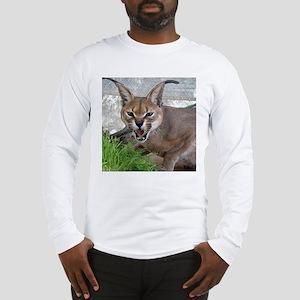 Caracal/Leopard Long Sleeve T-Shirt