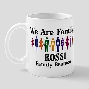 ROSSI reunion (we are family) Mug
