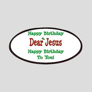 Happy Birthday Jesus Patches
