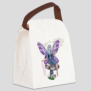 Mushroom Fairy Canvas Lunch Bag