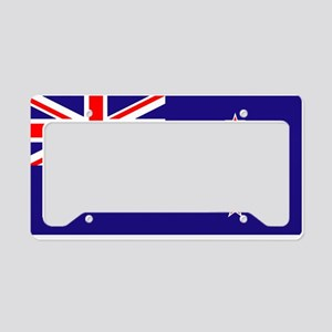NZ Flag License Plate Holder