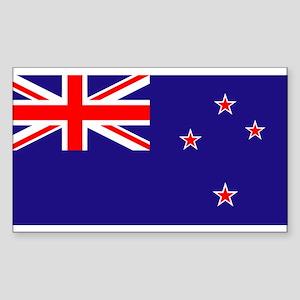 NZ Flag Sticker
