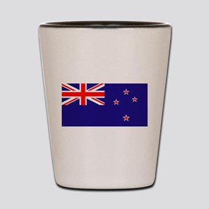 NZ Flag Shot Glass