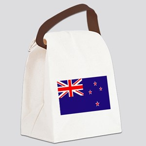 NZ Flag Canvas Lunch Bag