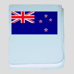 NZ Flag baby blanket