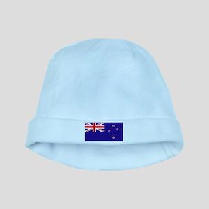 NZ Flag baby hat