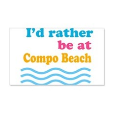 compobeach.png Wall Decal