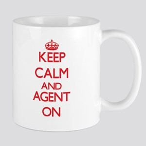 Keep Calm and Agent ON Mugs
