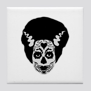 Day of The Dead Bride Tile Coaster