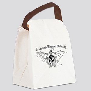 TPU large BW Canvas Lunch Bag