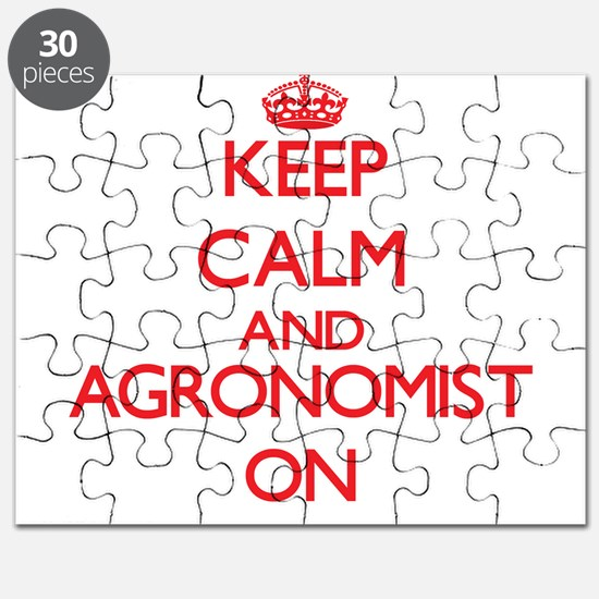 Keep Calm and Agronomist ON Puzzle