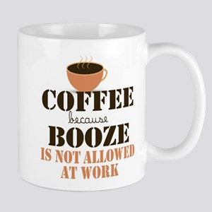 Coffee Not Booze Mugs