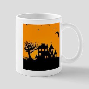 Halloween Manor Mugs