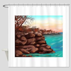 Rowen Cove Shower Curtain