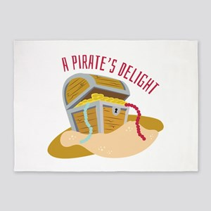Pirates Delight 5'x7'Area Rug