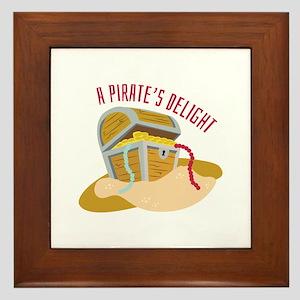 Pirates Delight Framed Tile