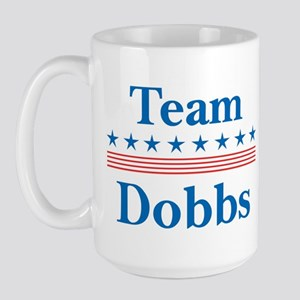 Team Dobbs Large Mug