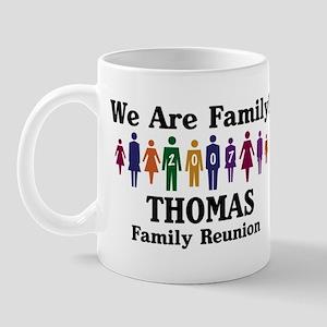 THOMAS reunion (we are family Mug