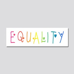 Equality Car Magnet 10 x 3