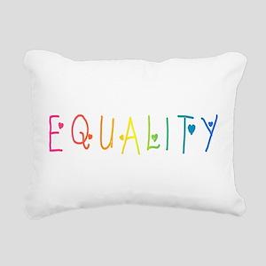 Equality Rectangular Canvas Pillow