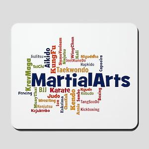 Martial Arts Mousepad