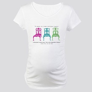 Mies van der Rohe/Chip-Chairs Maternity T-Shirt