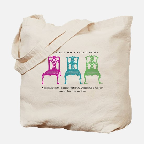 Mies van der Rohe/Chip-Chairs Tote Bag
