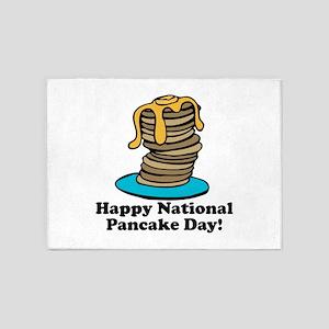 Pancake Day 5'x7'Area Rug
