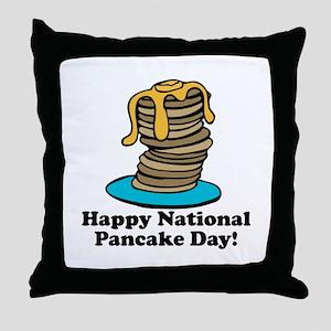 Pancake Day Throw Pillow