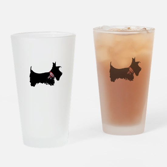 Scottie Dog Drinking Glass
