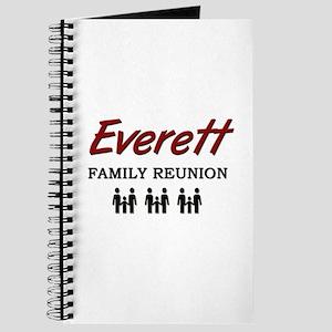 Everett Family Reunion Journal
